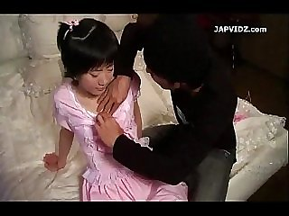 Asian Teen for Handjob and Toy Session
