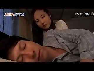 Japanese milf fuck with father in law